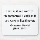 Gandhi Quote 4a Mouse Mat