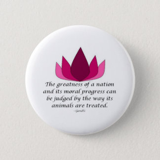 Gandhi Quote 6 Cm Round Badge