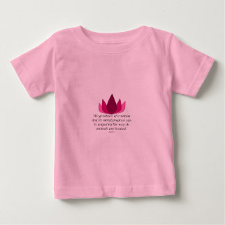 Gandhi Quote Baby T-Shirt