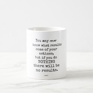 Gandhi Quote Coffee Mug