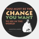 Gandhi Stickers