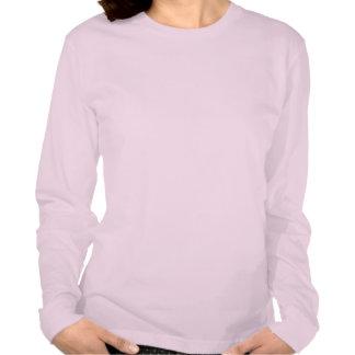 Gandhi T-Shirt -- Pink - Ladies - Long Sleeve