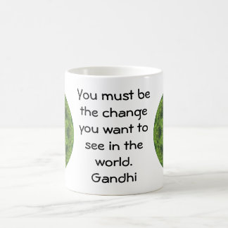 Gandhi Wisdom Quotation Saying Coffee Mug