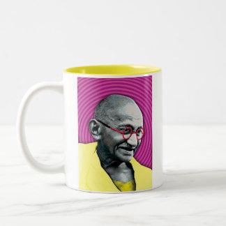 Gandhigiri Two-Tone Coffee Mug