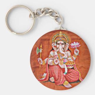 Ganesh Art Keychain