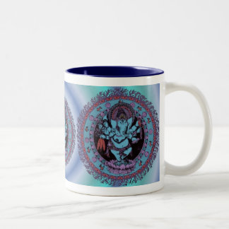 Ganesh Dancer Two-Tone Mug