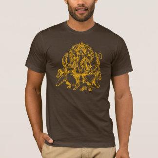 Ganesh detail orange T-Shirt