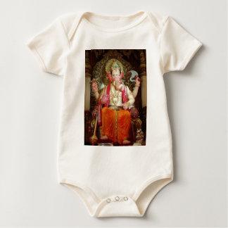 Ganesh Ganesha Hindu India Asian Elephant Deity Baby Bodysuit