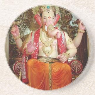 Ganesh Ganesha Hindu India Asian Elephant Deity Coaster
