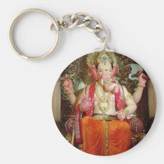 Ganesh Ganesha Hindu India Asian Elephant Deity Key Ring