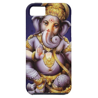 Ganesh Ganesha Hindu India Asian Elephant Deity Tough iPhone 5 Case