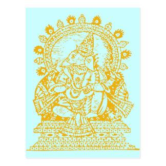 Ganesh: God of Success Post Card