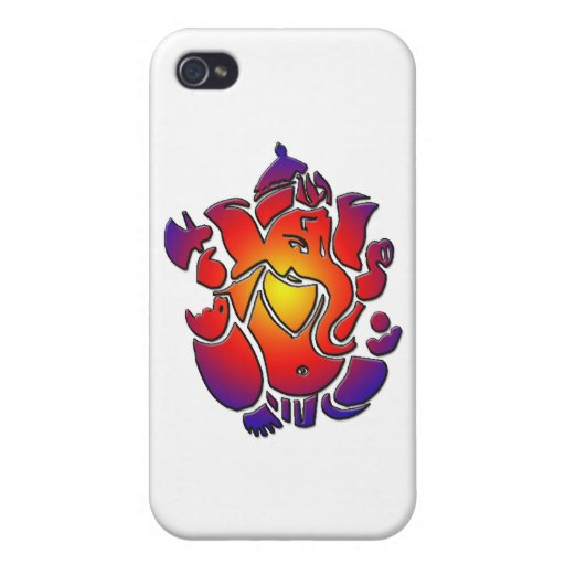 Ganesh in colors iPhone 4 covers