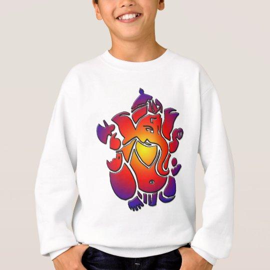 Ganesh in colours sweatshirt