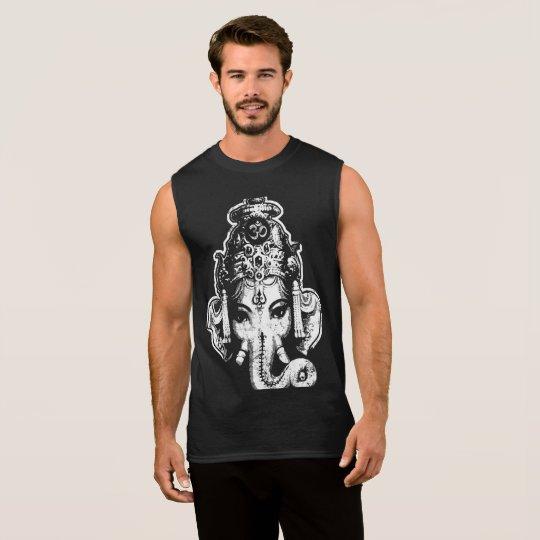 Ganesh Mens Muscle Yoga Tee Shirt