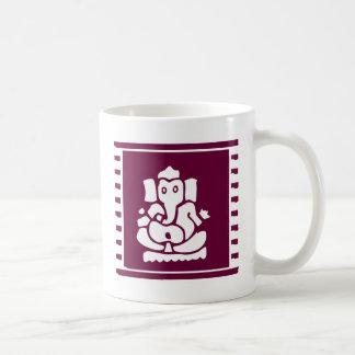 Ganesh Classic White Coffee Mug