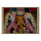 Ganesh Photo Diwali Card - landscape
