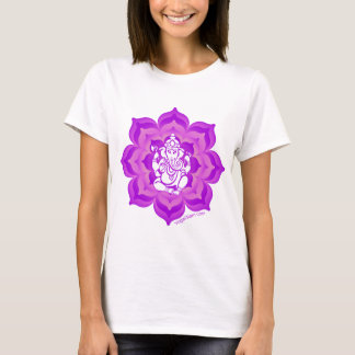 Ganesh purple design T-Shirt