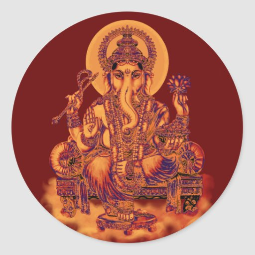 Ganesh - Remover of Obstacles Stickers