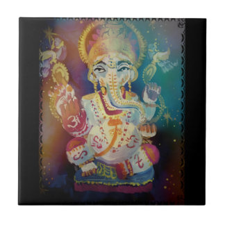 Ganesh Small Square Tile