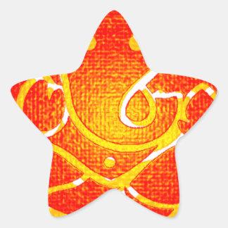GANESH SOUL BEAUTIFUL STAR STICKER