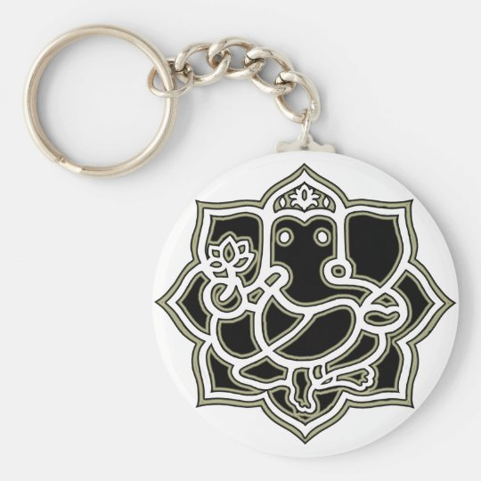 Ganesh the giver of Success Key Ring