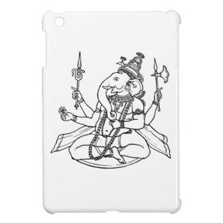 Ganesh the Hindu God of Luck iPad Mini Covers