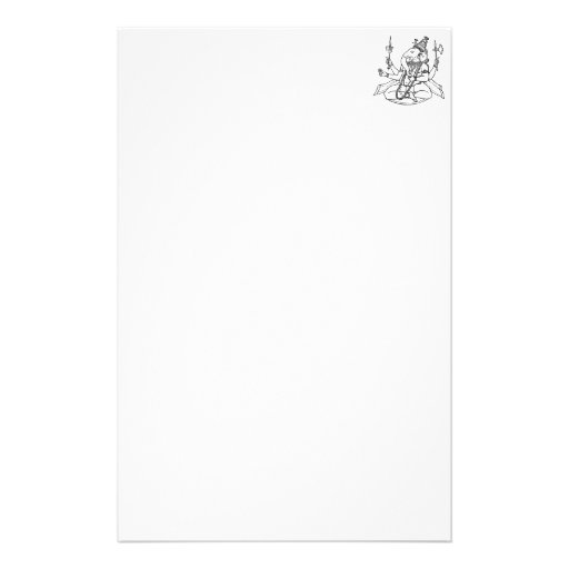 Ganesh, the Hindu God of Luck Personalized Stationery