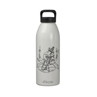 Ganesh the Hindu God of Luck Water Bottle