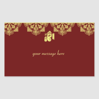 Ganesh Wedding Stickers