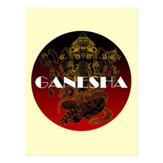 Ganesha 01 ポストカード