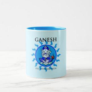 Ganesha baby Two-Tone mug