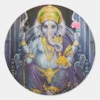 Ganesha Classic Round Sticker