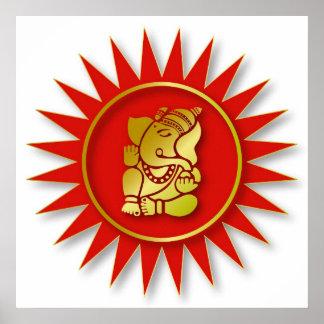 Ganesha Design Poster