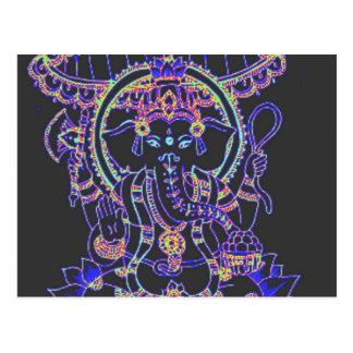 Ganesha Elephant goddess Postcard