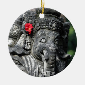 Ganesha elephant Hindu God Christmas Ornament