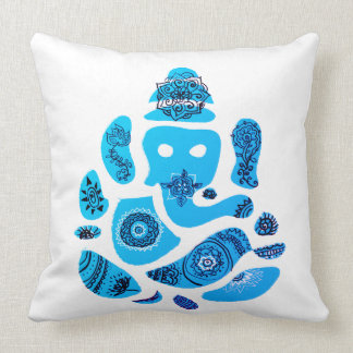 Ganesha Elepnat God  Throw Cushion 51 x 51 cm