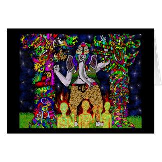Ganesha Garden Guardians Card