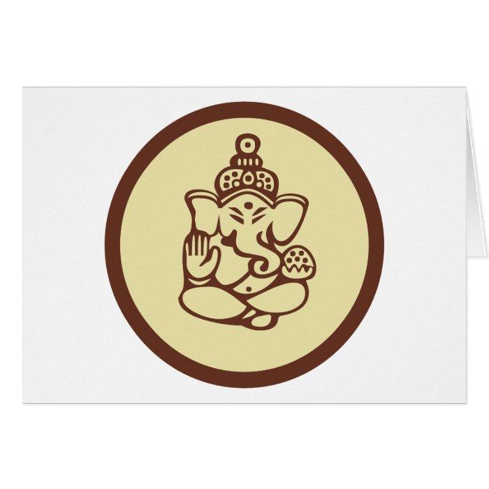 Ganesha Gift Greeting Card