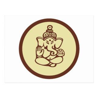 Ganesha Gift Postcard