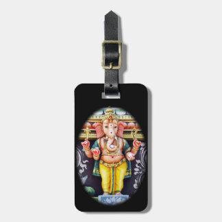 Ganesha God Statue Luggage Tag