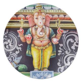 Ganesha God Statue Plate