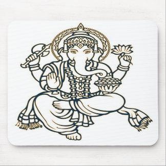 Ganesha Hindu Deity God Mousepad