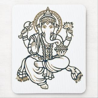 Ganesha Hindu Deity God Mouse Pad