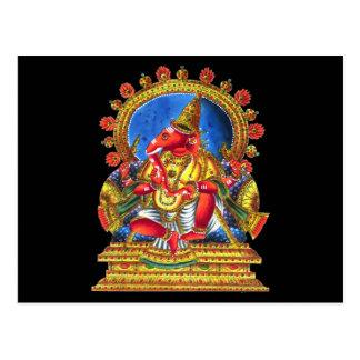 Ganesha Hindu Deity Postcard
