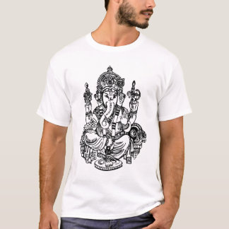 Ganesha - Hindu God Sign T-Shirt