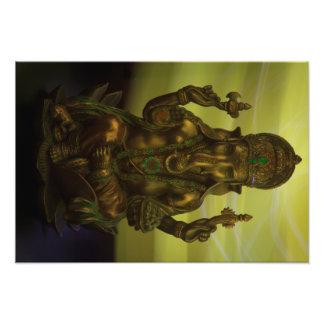 Ganesha Hindu Remover of Obstacles Photo Print