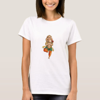 Ganesha in a Vrksasana (Tree) Yoga Pose T-Shirt