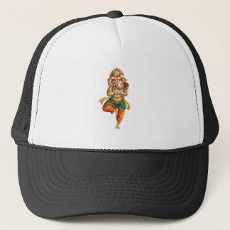 Ganesha in a Yoga Pose Trucker Hat