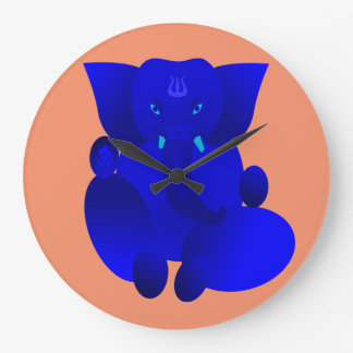Ganesha Large Clock